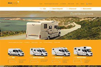 Sun Living online con il nuovo sito in italiano