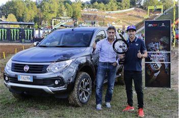 Premio Fiat Professional a Tony Cairoli