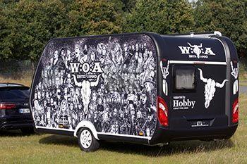 All'asta su eBay la caravan Hobby con i colori del W:O:A