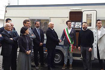 Una caravan Fendt al Comune di Camerino