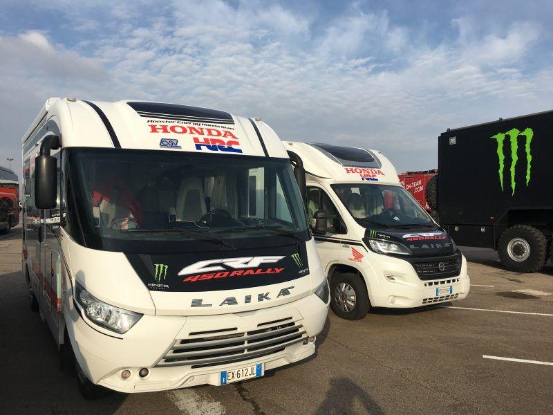 Dakar 2017: Laika ancora al fianco di Honda