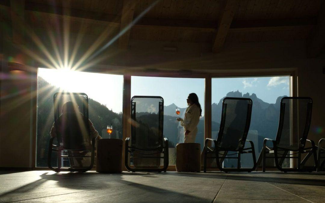 Camping Vidor & Wellness Resort: salute e benessere in Val di Fassa