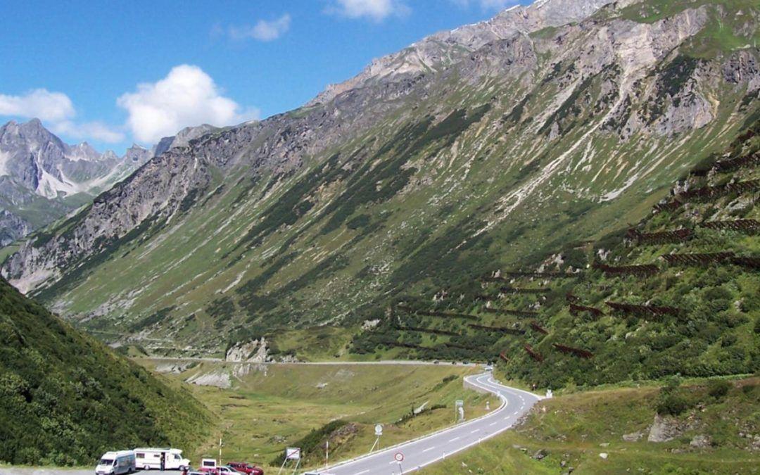 Tunnel dell'Arlberg gratuito ai camper sul Passo Arlberg