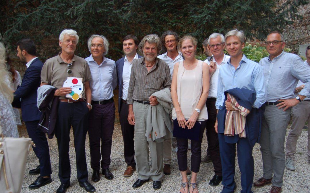 Complimenti, Reinhold Messner!