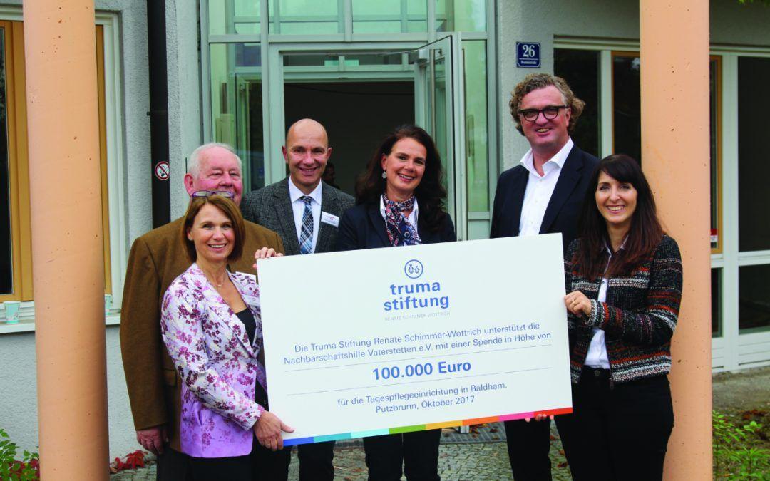 Truma dona 100.000 euro