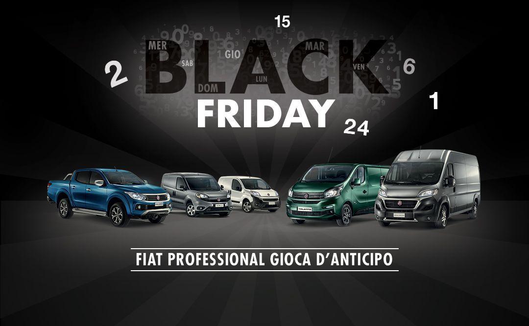 Al via il Black Friday di Fiat Professional