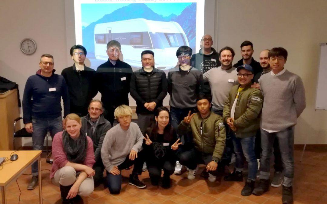 Seminario tecnico Hobby per la rete vendita italiana e coreana