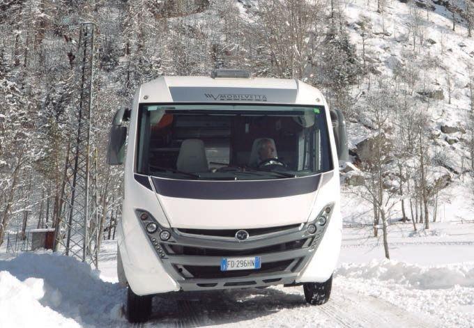 Inverno a tutto comfort a bordo di Mobilvetta