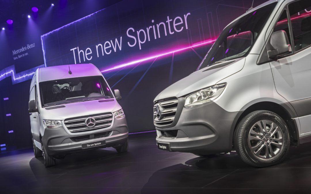 Nuovo Mercedes Sprinter: il debutto