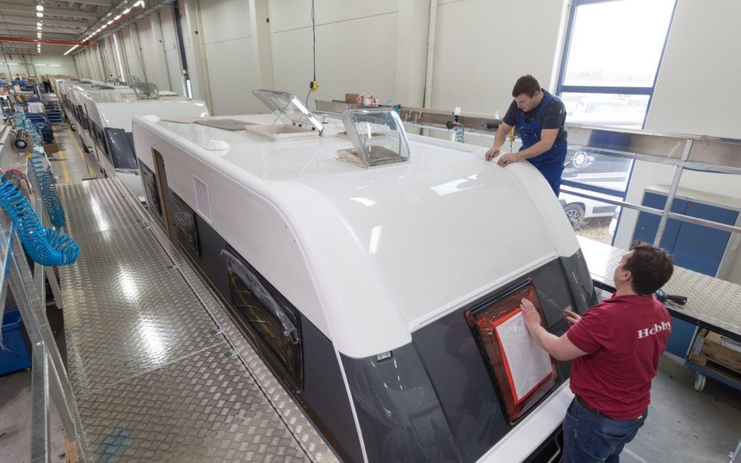 Hobby espande la produzione di caravan