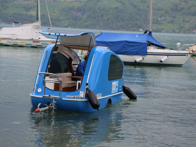 In caravan sul Lago di Thun