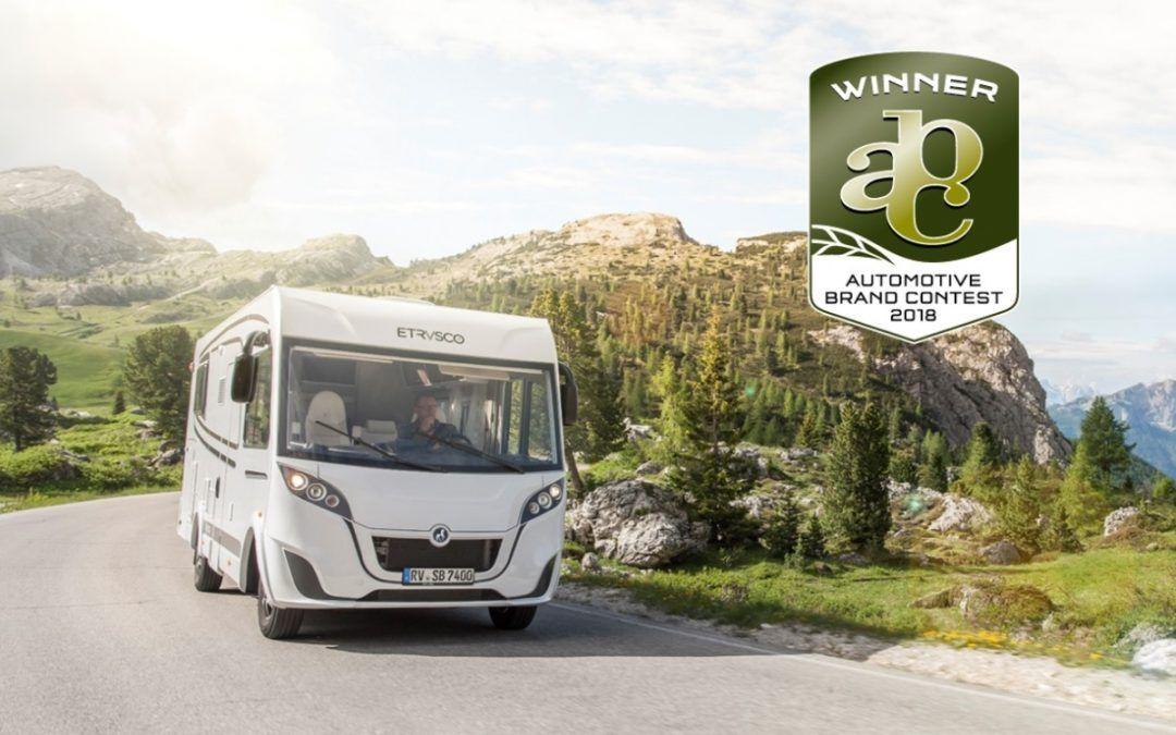 """Etrusco premiato all' """"Automotive Brand Contest 2018"""""""