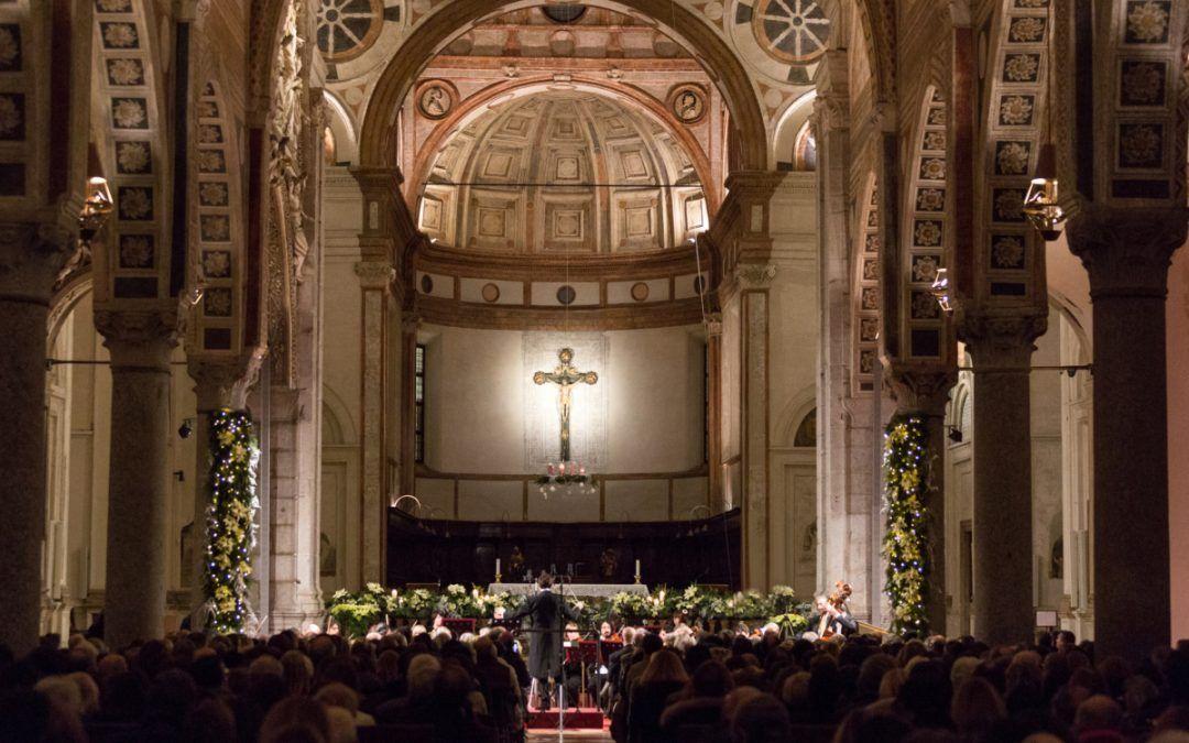 Concerto di Natale in Santa Maria delle Grazie a Milano