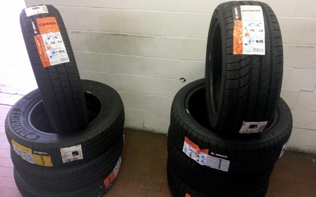 Davanti Tyres e gli pneumatici per camper