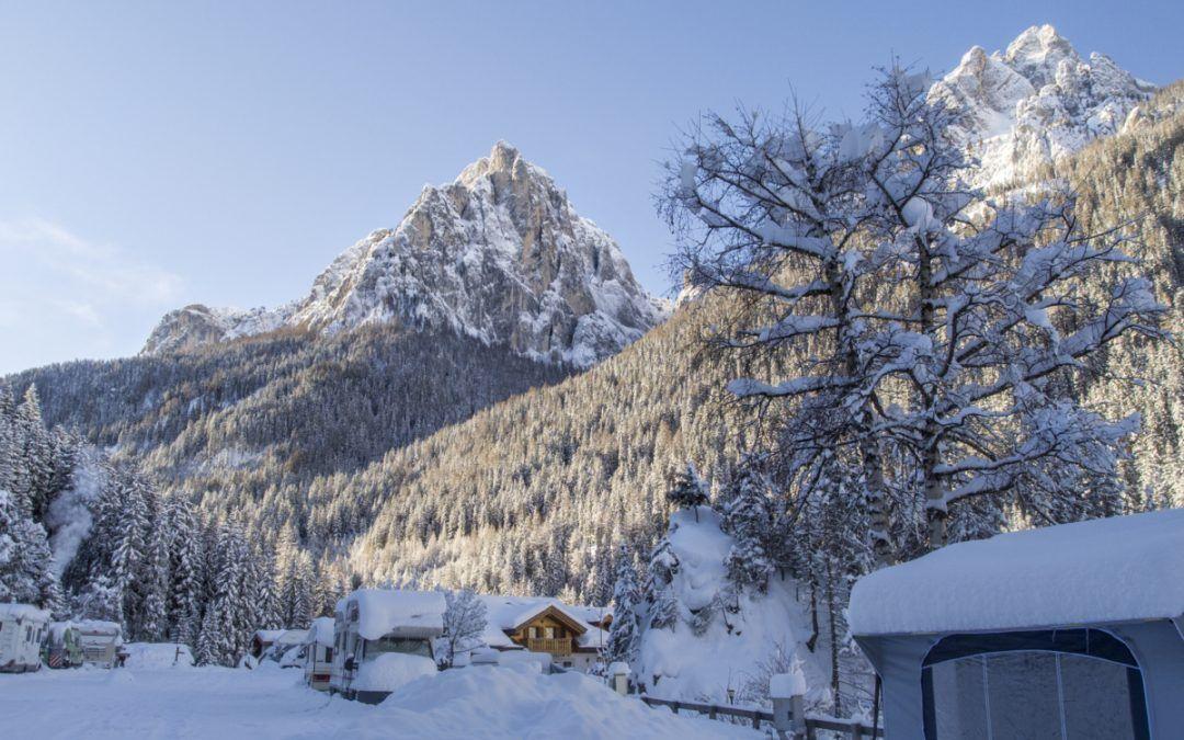 Vacanze invernali al Camping Vidor