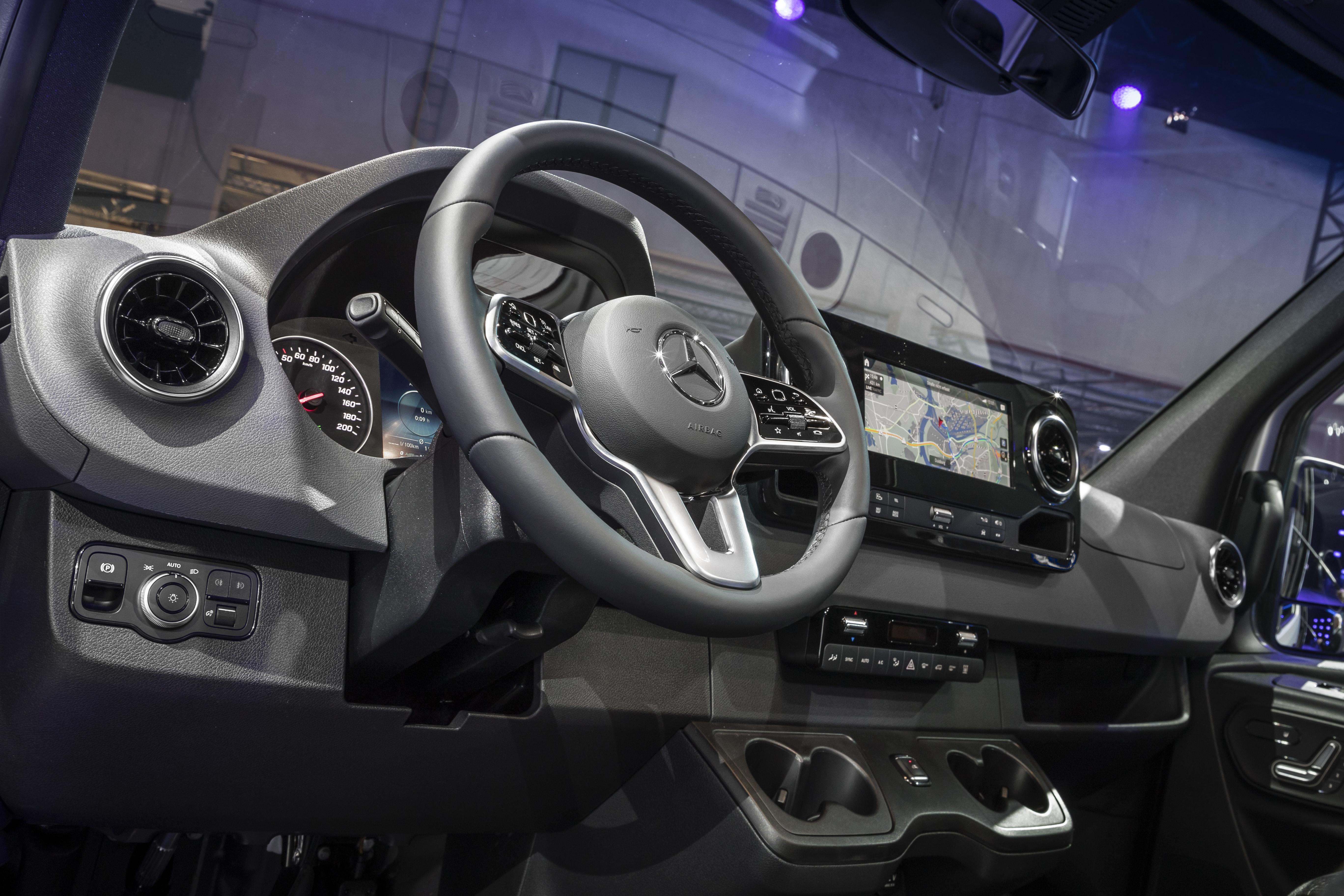 Weltpremiere Mercedes-Benz Sprinter, Duisburg 2018 // World premiere Mercedes-Benz Sprinter, Duisburg 2018
