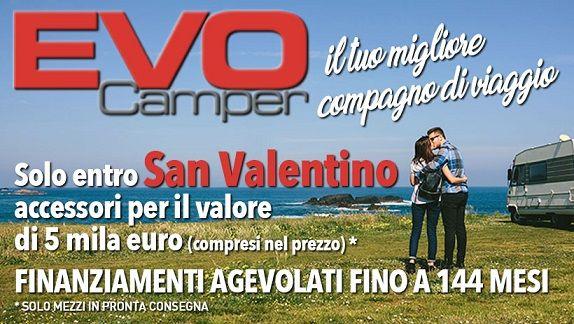 Festeggia San Valentino con Evo Camper