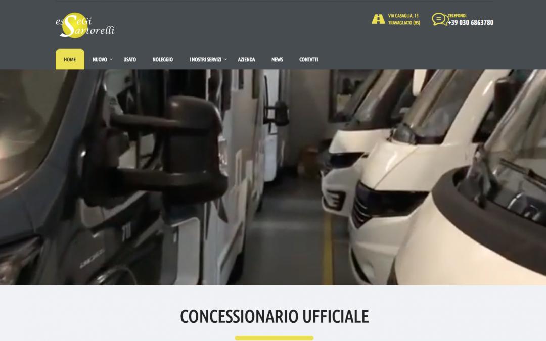 Online il nuovo sito di Essegi Sartorelli