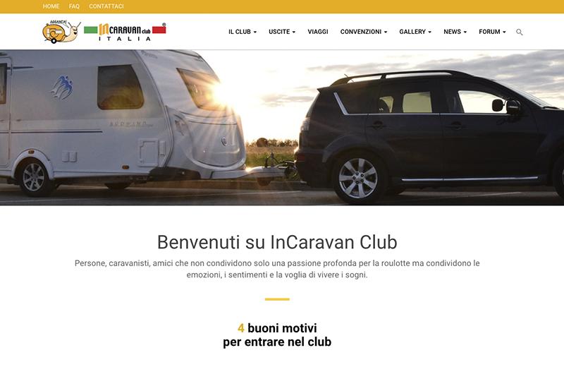 Nuovo sito web per IncaravanClub