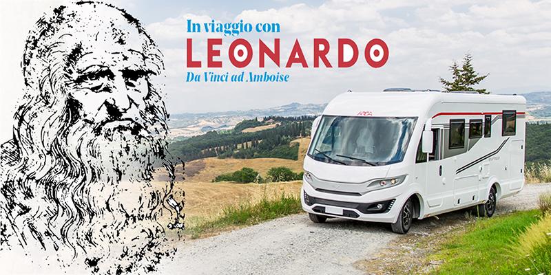 Arca in viaggio con Leonardo