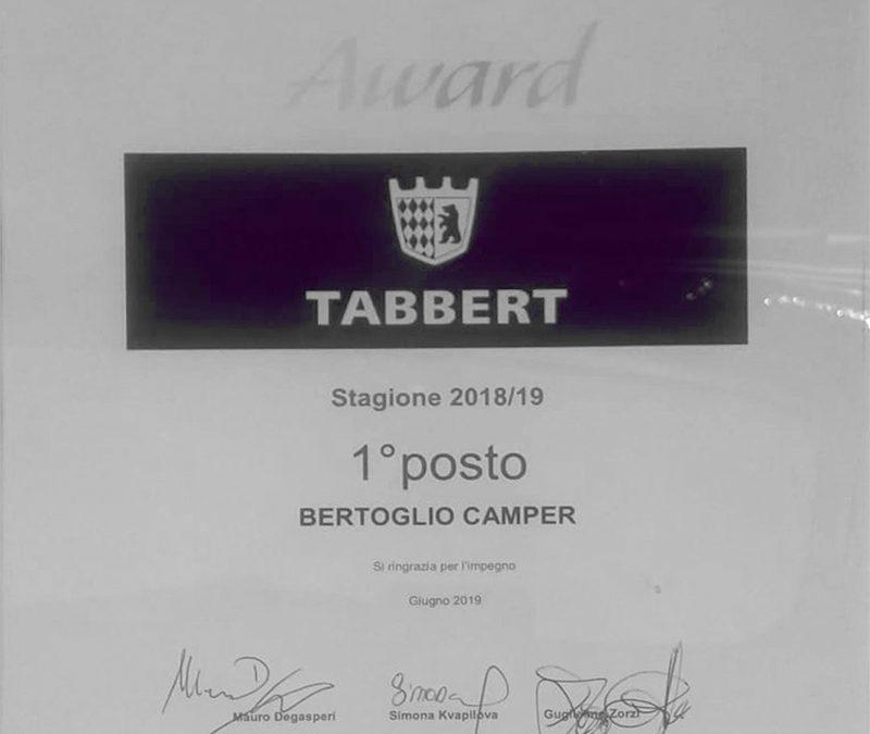 Bertoglio Camper premiato da Tabbert