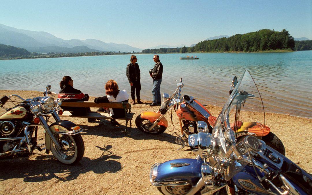 A Villach tutti in Harley-Davidson
