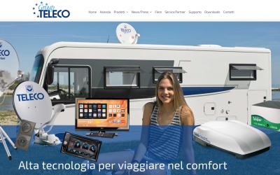 È online il nuovo sito di Teleco e Telair