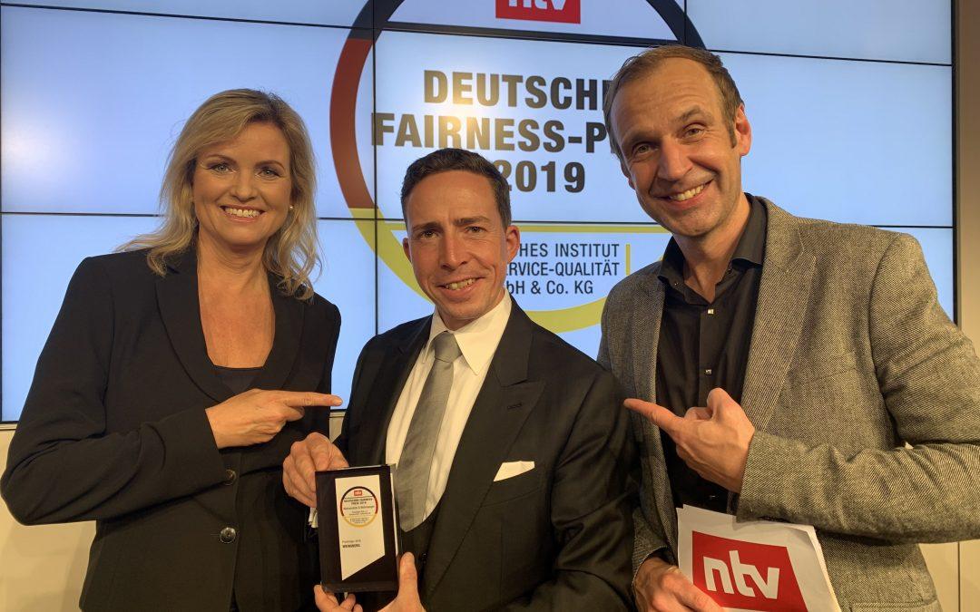 Weinseberg riceve il Fairness Award 2019