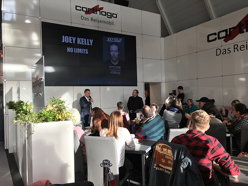 CMT Stoccarda: Joey Kelly allo stand Carthago