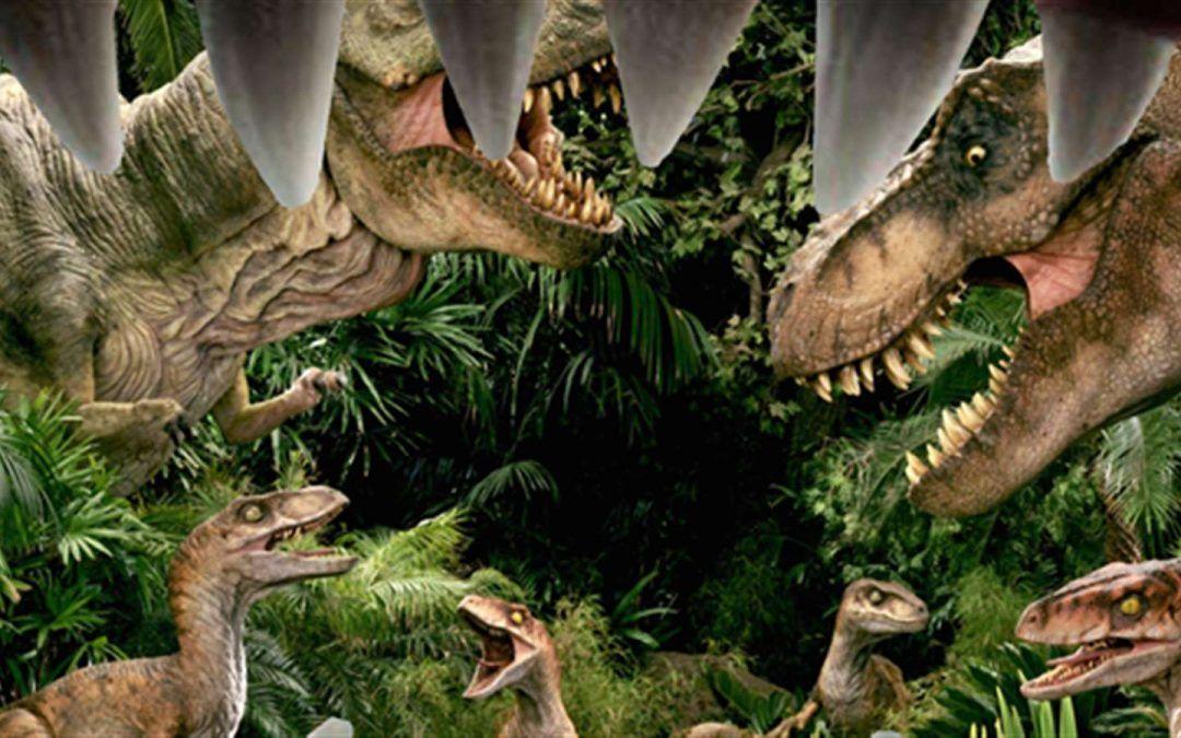 Un incontro ravvicinato con 20 diversi dinosauri robotizzati