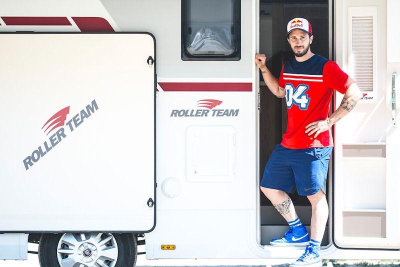 Andrea Dovizioso ha scelto Roller Team