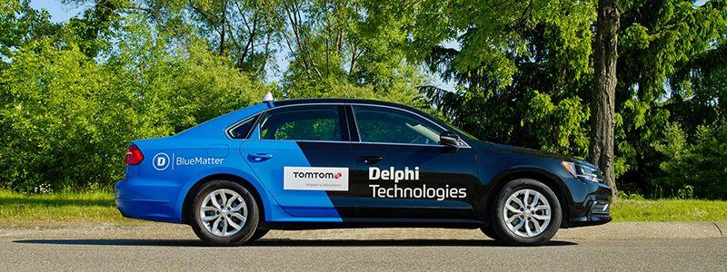TomTom e Delphi insieme
