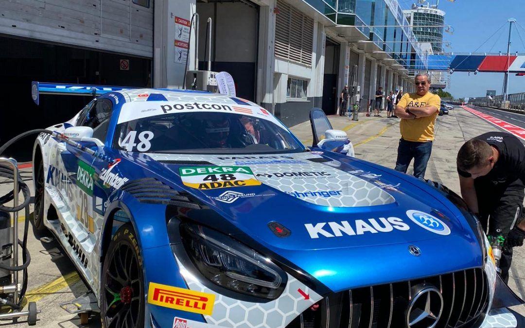 Knaus Raptor agli ADAC GT Masters: apertura della stagione al Lausitzring