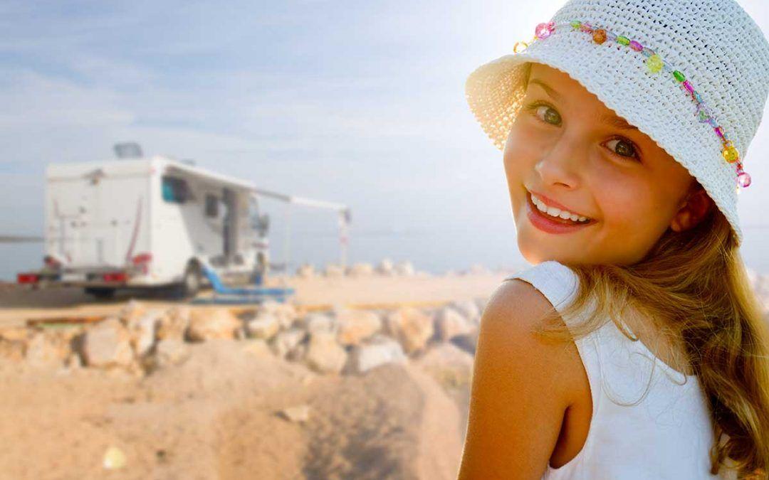 Camper e bambini: l'importanza del diario di bordo