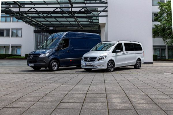 Mercedes Benz Vans da 50 anni nel settore dei veicoli commerciali