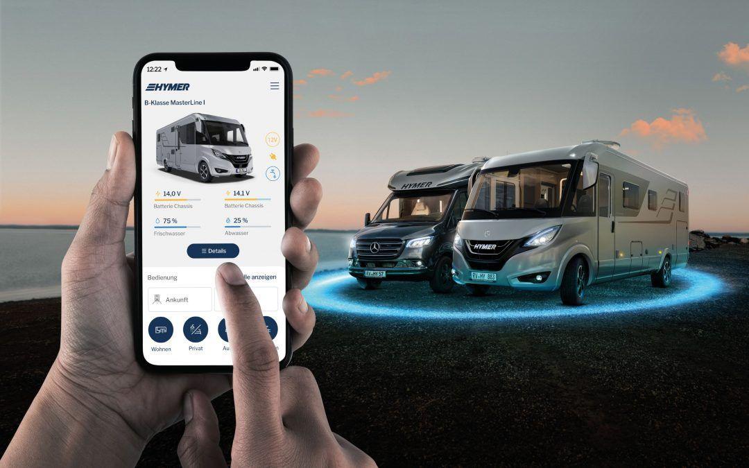 App Hymer Connect per camper sempre più connessi