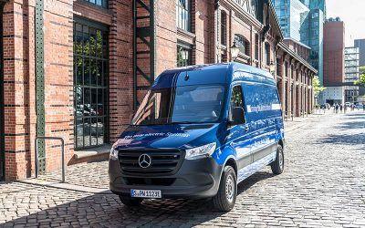 Mercedes punta sull'elettrico per il settore van