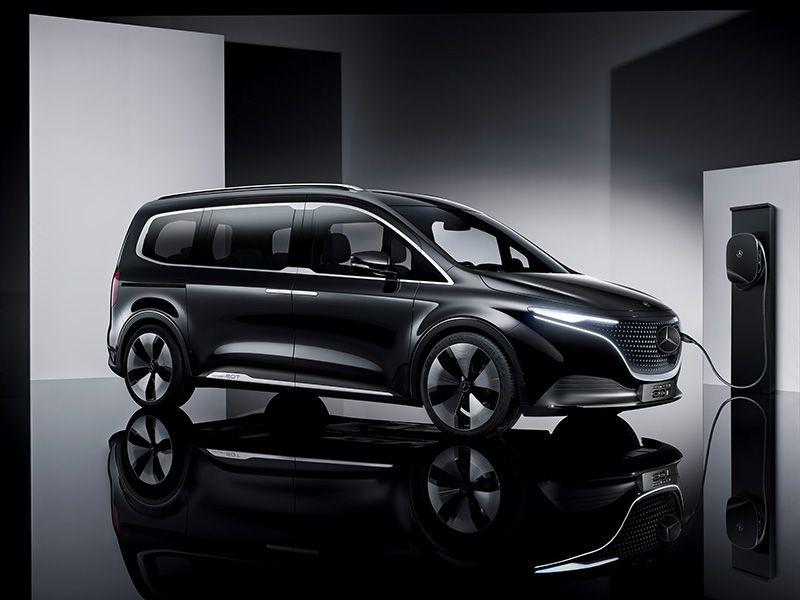 Mercedes lancia Concept EQT