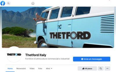 Thetford: la nuova pagina Facebook