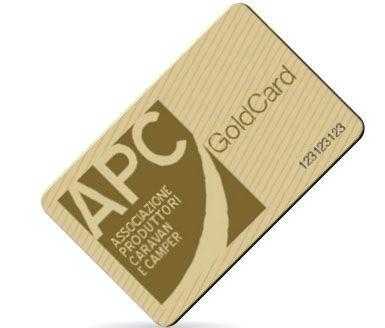 Con Gold card al Salone del Camper